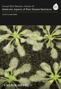 Annual Plant Reviews, Molecular Aspects of Plant Disease Resistance ()